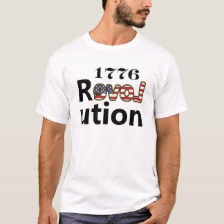 """1776 """"kärlekUSA"""" revolution T-shirt"""
