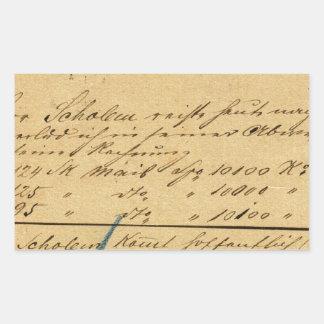 !!! 17 Nov 1882: post- kort som överförs av Herr Rektangulärt Klistermärke