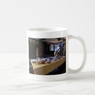 17th Århundradekök på gammala Moseley Hall Kaffemugg