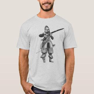 17th ÅrhundradeMusketeer Tee Shirt
