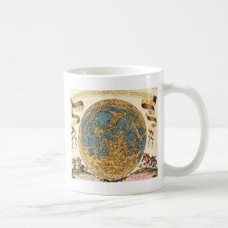 17th Lunar karta för århundrade Kaffemugg