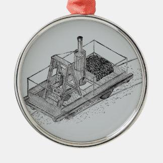 1813 pustande Billy Julgransprydnad Metall
