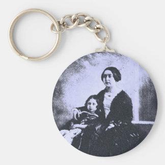 1840s rund nyckelring