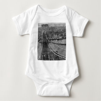 1870s New York City Brooklyn överbryggar Tee Shirts