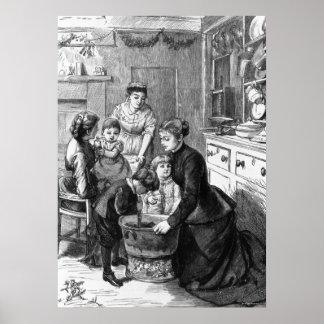 1876: Plumpuddingen för barnhjälpuppståndelse Poster