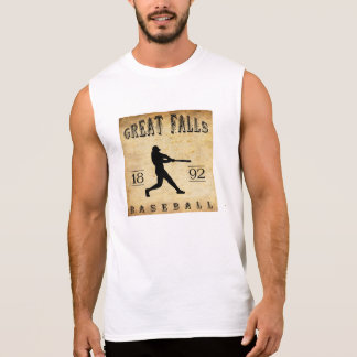 1892 underbara nedgångMontana baseball Sleeveless T-shirts