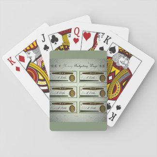 18th Citationstecken; Pengar som 6 budgeterar väg Spel Kort