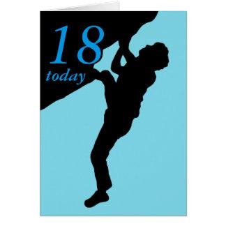 18th födelsedagkort hälsningskort
