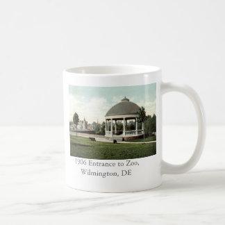 1906 hänrycka till zooen, Wilmington, DE Kaffemugg