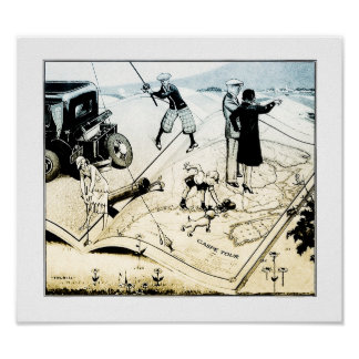 1931 Charles Forbell annonsering - Golftryck Poster