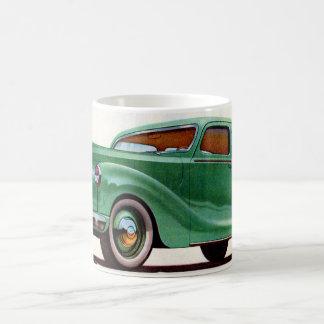 1948 gröna Austin Devon Vit Mugg