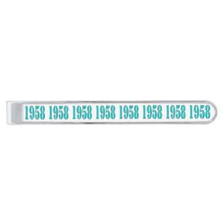 1958 beställnings- Tie-pub Slipsnål Med Silverfinish
