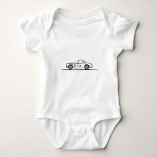 1959 1960 Chevrolet Corvette Hardtop T Shirt