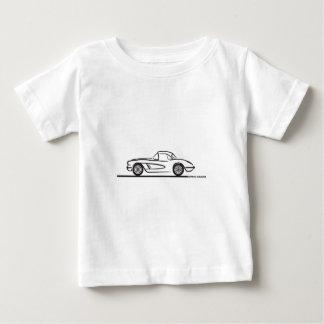1959 1960 Chevrolet Corvette Hardtop T Shirts