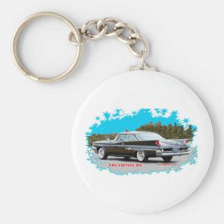 1960_Chrysler_300 Rund Nyckelring