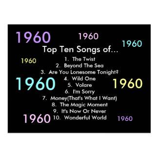 1960 sånger vykort
