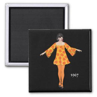 """""""1967"""" kylmagnet magnet"""