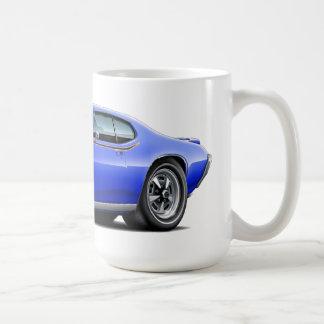 1969 bil för billykta för GTO-domare blått gömmd Kaffemugg
