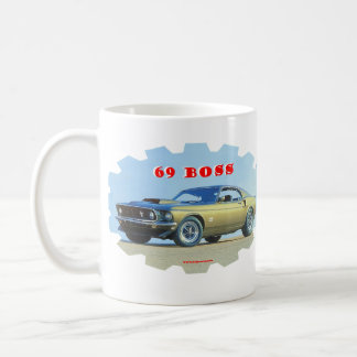 1969_Mustang Kaffemugg