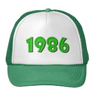 1986 BASEBALL HAT