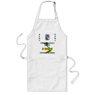 198. Ljust förkläde 1/w för Inf-bdeVietnam BBQ
