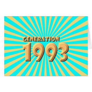 1993 HÄLSNINGSKORT