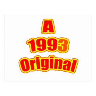 1993 original- rött vykort