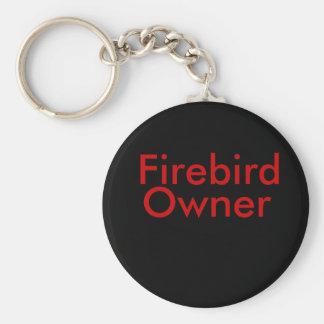 1996 Firebird, ägare Rund Nyckelring