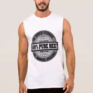 199% rena nötkött inga steroider t-shirts utan ärmar