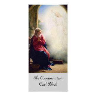 19th ÅrhundradeAnnunciation Reklamkort