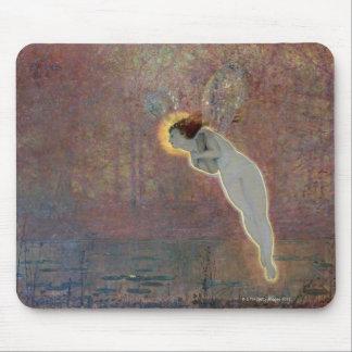 19th århundrademålning av ängeln musmatta