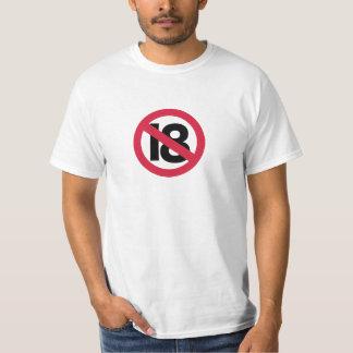 19th födelsedag t-shirt