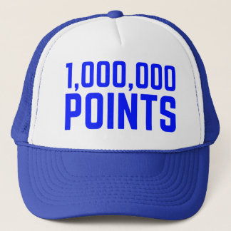 1.000.000 PEKAR den roliga slogantruckerkepsen Keps