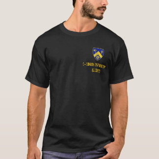 1-184. Infanteri Tee Shirts