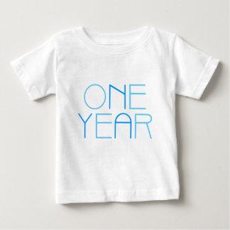 1 - 5 år födelsedagskjorta: Blått Tee Shirts