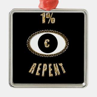 1% ångrar euro julgransprydnad metall