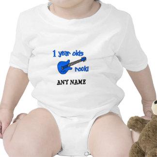 1 år - oldssten! Personligbaby 1st födelsedag T Shirts