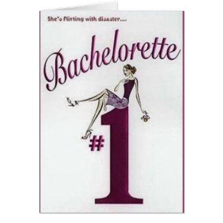 #1 Bachelorette - Bachelorette Paryt inbjudningar Hälsningskort