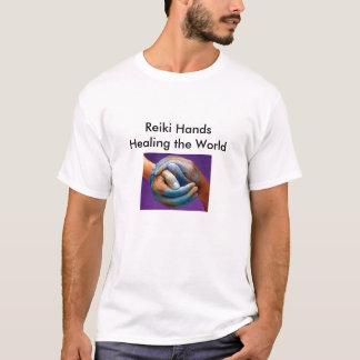 1_edited Reiki händer som läker världen T-shirt