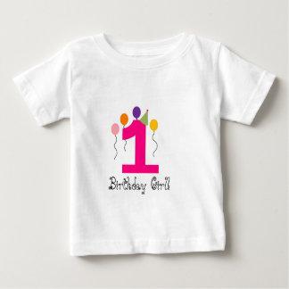 1 födelsedagflicka! tshirts