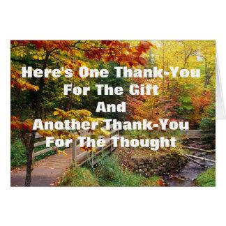 #1 miljon Tacka-dig Hälsningskort