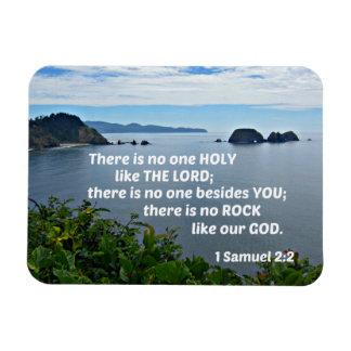 1 Samuel 2:2 där är ingen något liknande för en Magnet