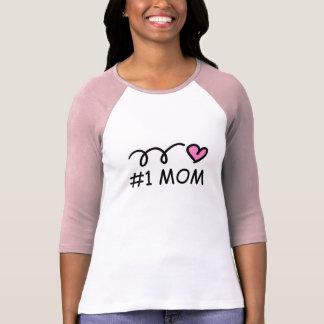 #1 skjorta för mamma t t shirt