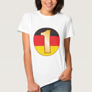 1 TYSKLANDA guld Tshirts
