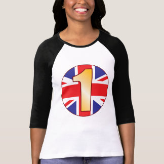 1 UK-guld T-shirts