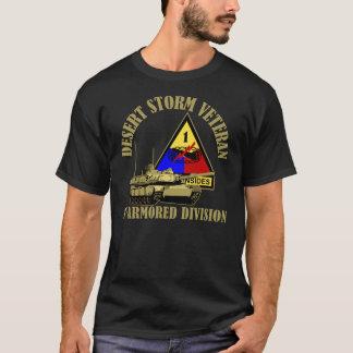 1st Armored uppdelning [den 1st ANNONSEN] T-shirts