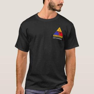 "1st Armored uppdelning ""gammala Ironsides "" T-shirt"
