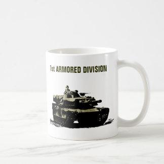 1st ARMORED UPPDELNING Kaffemugg