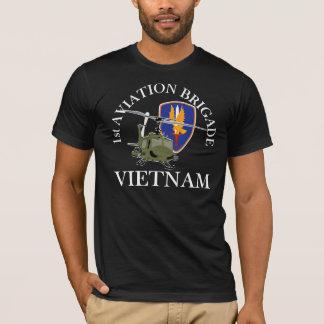 1st AVNBDEVietnam Vet Huey T Shirts