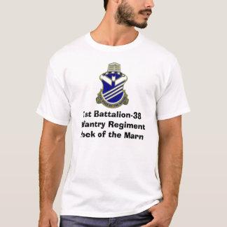 1st Battalion-38 infanteri RegimentRock av Marnen Tshirts